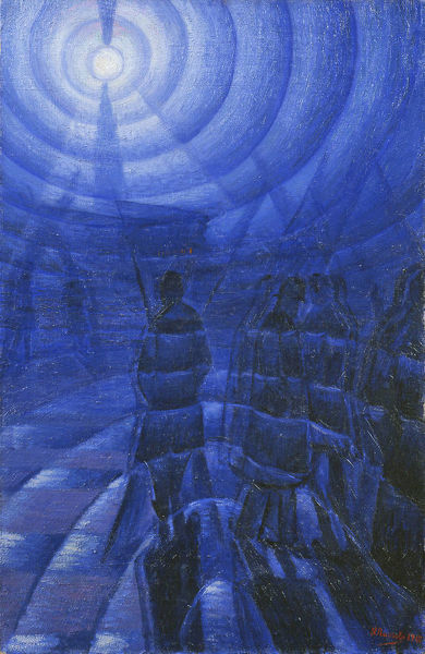 Luigi Russolo (1885-1947), Solidity of Fog, 1912