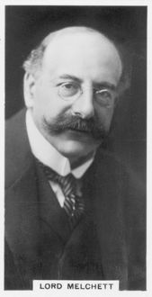 Alfred Moritz Mond, 1st Baron Melchett (1868-1930) British industrialist and politician