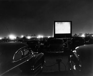 Bronx Whitestone Drive-In movies, New York