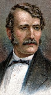 David Livingstone (1813-1873) Scottish missionary and African explorer