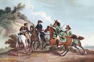 Edward Paget (1775-1849) British general, second in command to Wellington 1811, captured