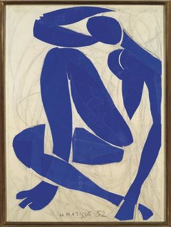France, Nice, Blue Nude IV, 1952