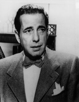 Humphrey Bogart, American actor