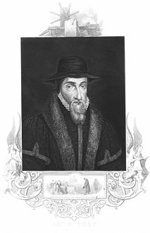 John Foxe (1516-1587) English martyrologist, author of History of the Acts and Monuments