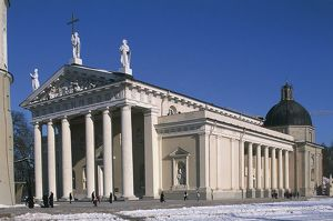 Lithuania, Vilnius, Old Town, cathedral (Arkikatedra)