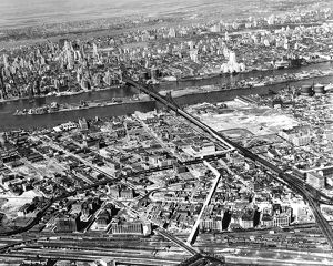 New York 1937 Aerial View