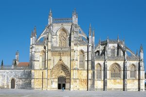 Portugal - Batalha. Monastery of the Dominicans. UNESCO World Heritage List, 1983
