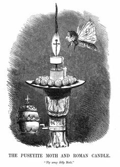 The Puseyite Moth and the Roman Candle: Edward Pusey (1800-1882) English theologian