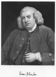 Samuel Johnson (1709-1784) English author and lexicographer